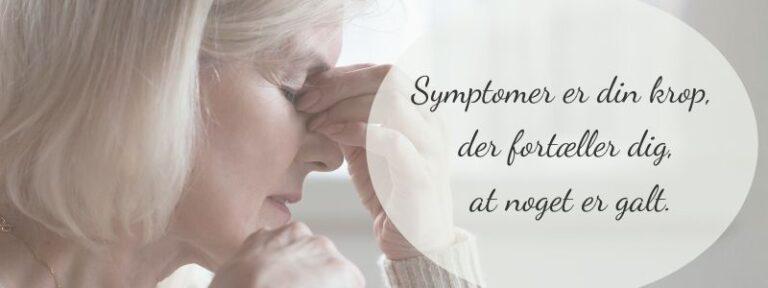 Symptomer på stress - din krop taler til dig
