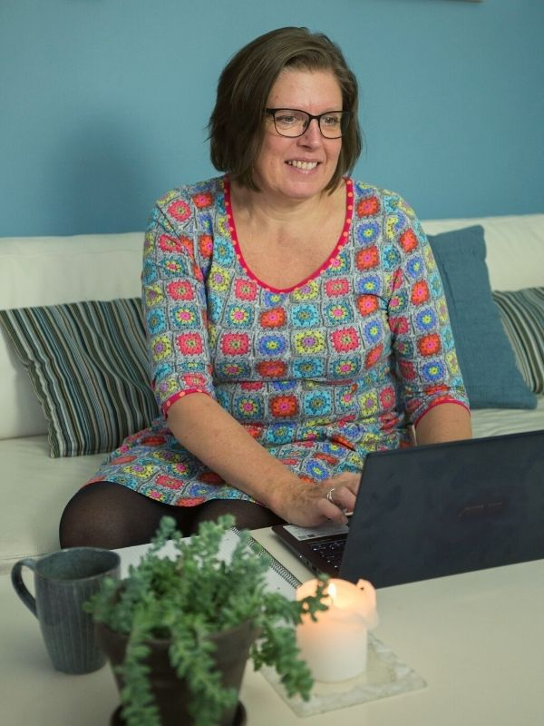 Online stresscoaching med Connie